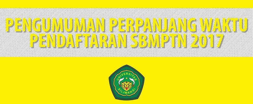 Pengumuman-Perpanjang-Waktu-Pendaftaran-SBMPTN-2017-2